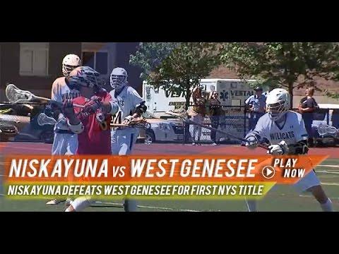 West Genesee (NY) vs Niskayuna (NY)  | 2015 NYS Class A Championship