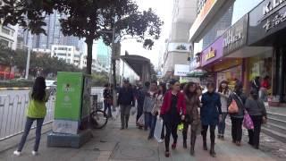 Walking in Guiyang, Guizhou Province, China  貴州省貴陽市を歩く