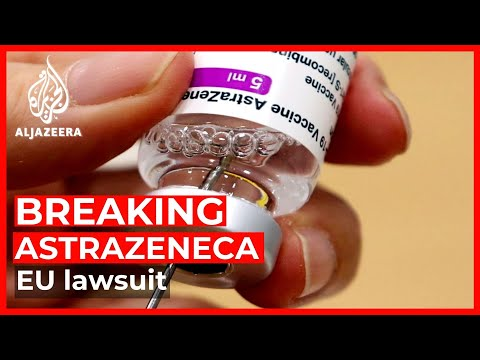 EU takes legal action against AstraZeneca over supply