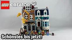 """Das BESTE Modular (bis jetzt)   LEGO Creator Expert """"Buchhandlung"""" (10270) Review!"""