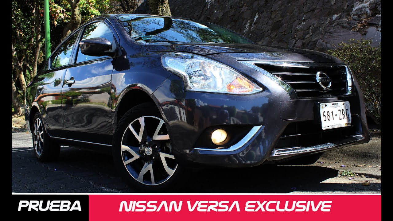 Nissan Versa Exclusive A Prueba - Carman U00eda