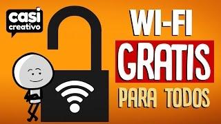 Wi-Fi Gratis para todos | Casi Creativo