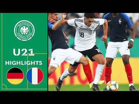 Deutschland - Frankreich   U21 Testspiel   Highlights