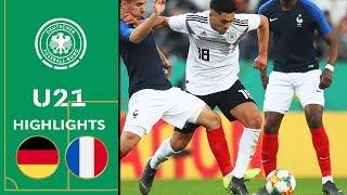 Deutschland - Frankreich 2:2 | U21 Testspiel | Highlights