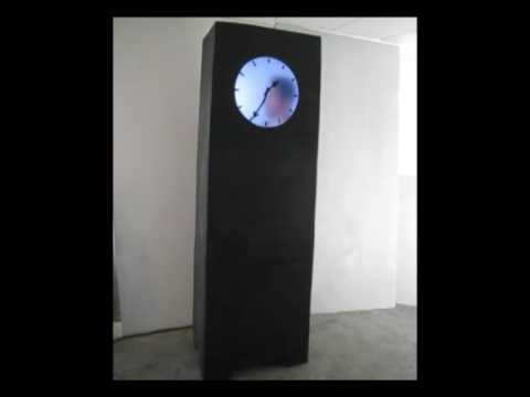 Real Time - preview Grandfather Clock - Maarten Baas