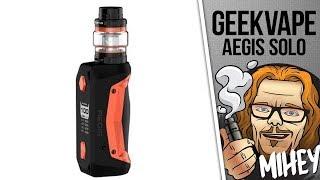 Geekvape Aegis Solo Kit. Маленькая неутопашка.