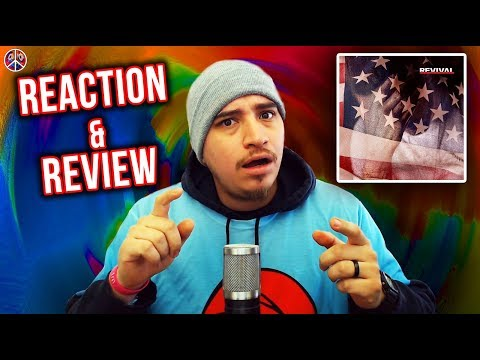 Eminem - REVIVAL (FULL ALBUM) (REACTION/REVIEW)