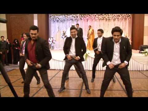 Nabil & Aysha Wedding Reception [Pistah Dance Mob]