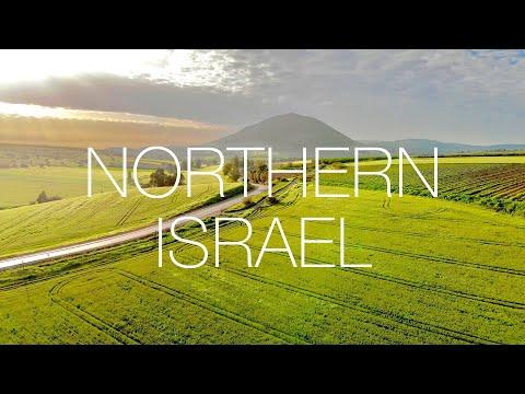 ISRAEL'S NORTHERN LANDSCAPES | Galilee \u0026 Golan Heights | 4K