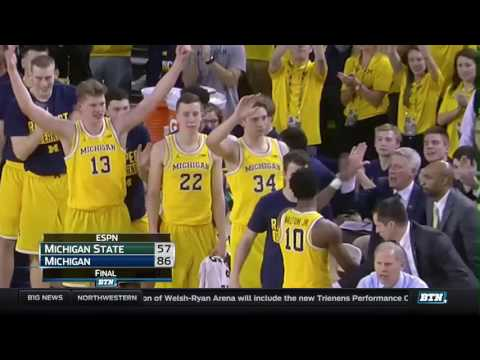 Michigan State at Michigan - Men