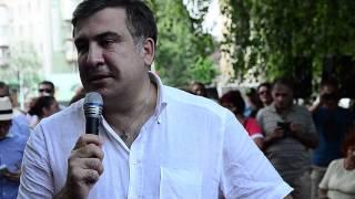 Измаил. Саакашвили о трассе Одесса-Рени(, 2015-07-31T23:56:29.000Z)