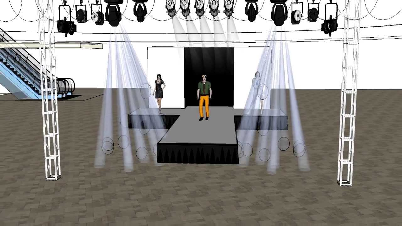 Stage Design For Runway Youtube