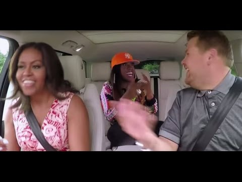 Michelle Obama Carpool Karaoke Surprise Guest