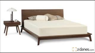 2 Danes Nashville I Copeland Furniture Solid Hardware Furniture Made In Vermont - Bedroom Dinning