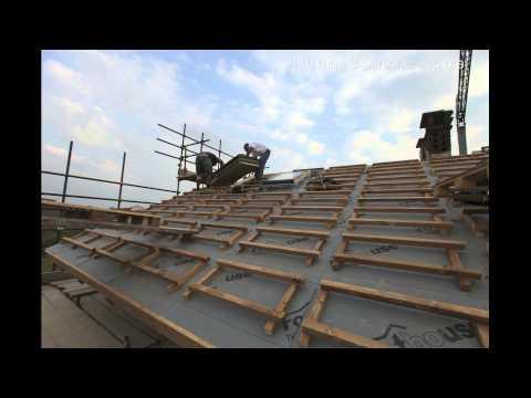 Montaggio tetto ventilato con coperture sandwich doovi for Montaggio tetto in legno ventilato