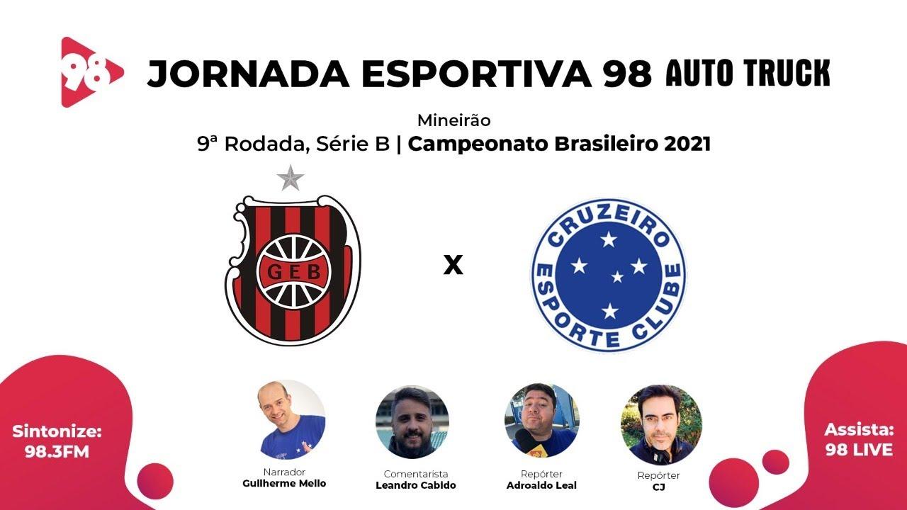 Download BRASIL DE PELOTAS X CRUZEIRO - CAMPEONATO BRASILEIRO, SÉRIE B - AO VIVO RÁDIO 98FM
