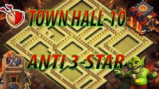 TH-10 Anti 3-Star||War Base|| [2017] #1