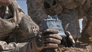 U.S. Army 4th Infantry Division - Live Claymore Mine Training!