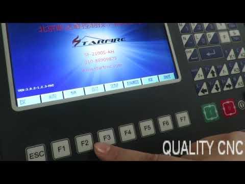 Quality CNC plasma cutting machine cutting steel