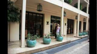 Luxury Retailers of Bangkok - Louis Vuitton Boutique at the Oriental Hotel