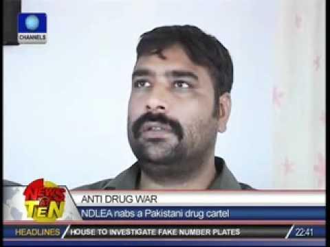 NDLEA nabs a Pakistani drug carrier