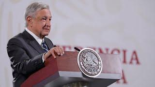 Entrega de pensiones del último bimestre de 2020. Conferencia presidente AMLO