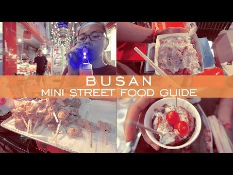 Street Food Montage | Busan Korea | Travel Vloggers