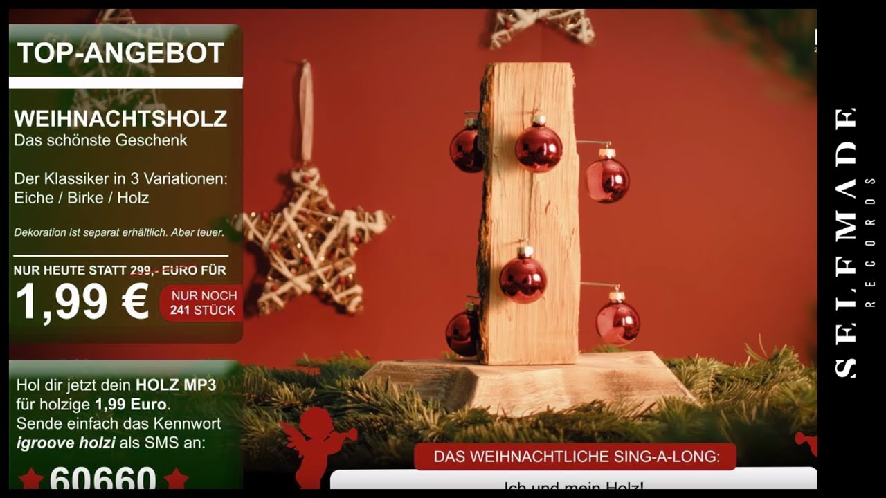 257ers - Holz (Weihnachtslied) - YouTube