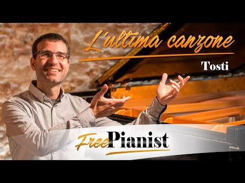 L'ultima Canzone - KARAOKE / PIANO ACCOMPANIMENT - Napolitan Song - Tosti