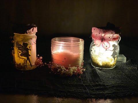 DIY FAIRY LANTERN TUTORIAL - FAIRY GLOW JAR WITHOUT TISSUE PAPER