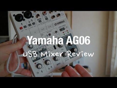 Yamaha AG06 USB Audio Interface Mixer Review (Podcast, Gaming)