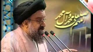 Ayatollah Khatami hint and  criticize Ahmadnejad in Friday Prayer without mentioning his name