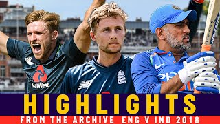 A Classy Root Hundred & Willey Fireworks! | Classic ODI | Eng v India 2018 | Lord's