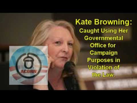 Browning Breaks Campaign Laws; Supports Occupy Wall Street