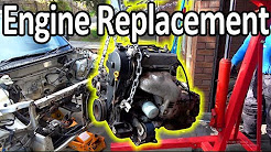 How to replace an engine in a car