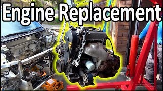 How to replace an engine in a car ( Do It Yourself Guide)