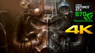 Fallout 4 | PC 4K Gameplay | GTX 970 |
