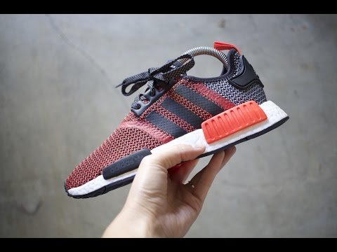 Adidas NMD R1 (Nomad) Mesh And Primeknit Pickups + On Foot