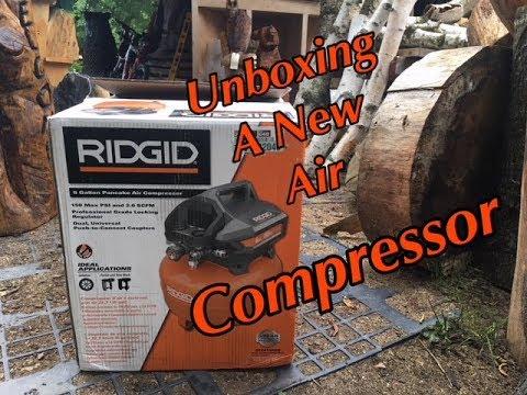 unboxing-a-ridgid-air-compressor.