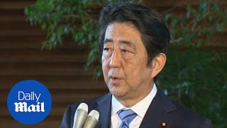 Japanese PM condemns North Korea's nuclear test - Daily Mail