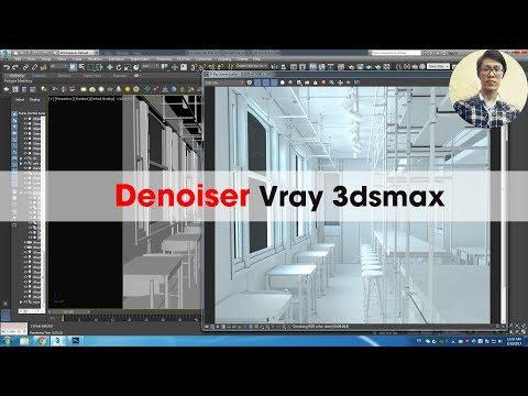 Denoise Vray - Chức năng khử nhiễu trong Vray