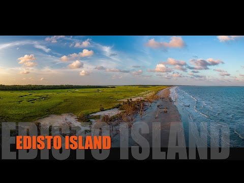 Edisto Island, South Carolina - Aerial Perspective - Summer 2016 (DJI P4)