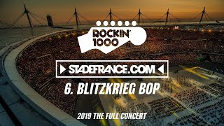 Rockin 1000 - Blitzkrieg Bop / Ramones - Stade  de France 2019