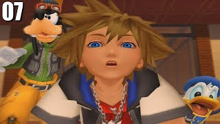 SORA, GOOFY Y DONALD JUNTOS DE NUEVO!! | Kingdom Hearts II [PS2] Walktrough [07]