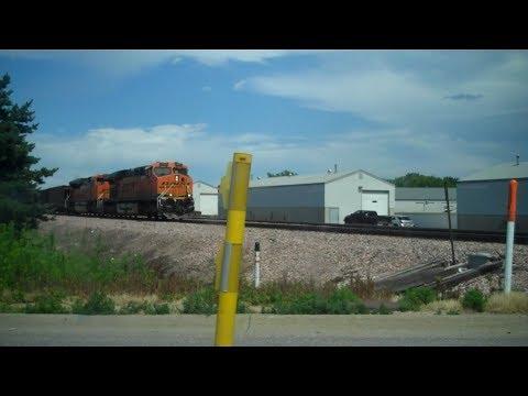 Happy 4th! Railfanning in Mahoney State Park, Nebraska