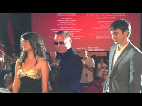 Festival di Venezia 2013 - Gerontophilia: Bruce LaBruce, Pier-Gabriel Lajoie, Katie Boland