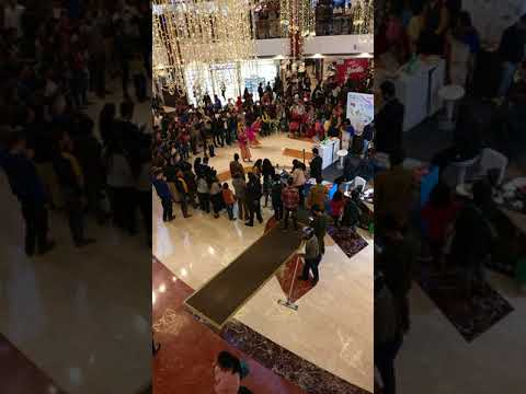 Indonesia  industry  of tourism marketing in Citywalk in New Delhi during holiday season