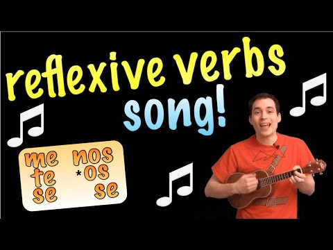 Reflexive Verbs Made Easy With a Song! (Spanish Lesson)