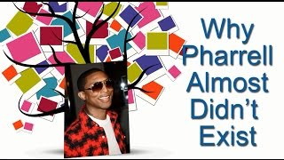 The Family Tree of Pharrell Williams and Why He Almost Didn't Exist