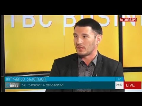 Ecoman LLC - Live broadcast on Pirveli TV